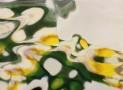 ירוק צהוב ולבן 1 | תמונה בסידרת ''בארץ המראות'' | צילום אמנותי מאת סמדר ברנע | E20-1404-22-10010