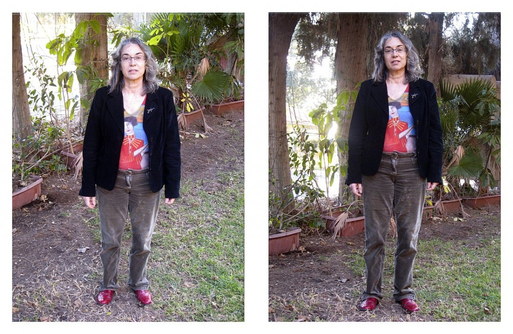 Example of how your height impacts the photograph - full length