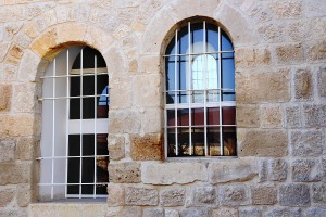 Reflections in the windows of the Inn of the Good Samaritan | cat# E20-1412-05-1804