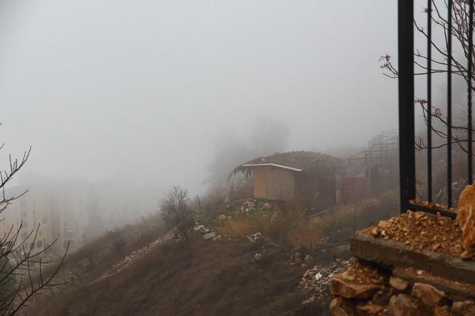 צפת בערפל | צילום אמנותי מאת סמדר ברנע | E20-1601-08-6457